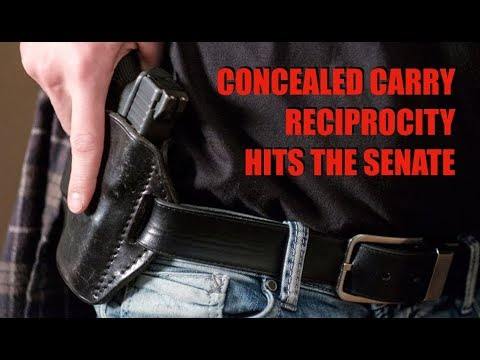 National Concealed Carry Reciprocity Submitted in Senate