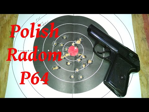 Polish P64 With Factory Deactivated Decocker (A first shots Review) *