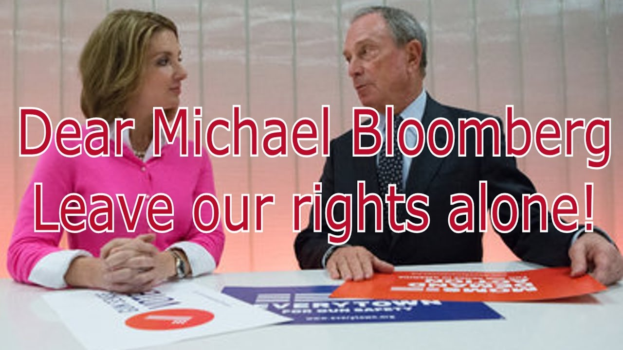Dear Michael Bloomberg, Leave our rights alone!! #gunrights #reciprocity #2A #constitution