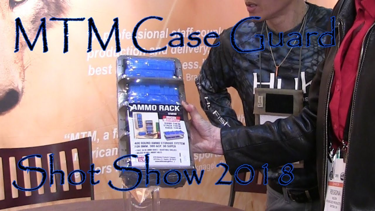 Shot Show 2018 MTM Case Guard Products