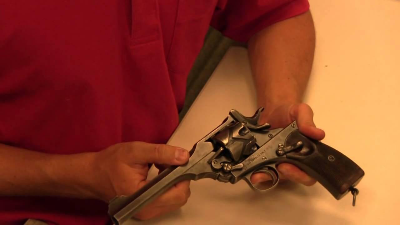 Webley-Fosbery Automatic Revolver