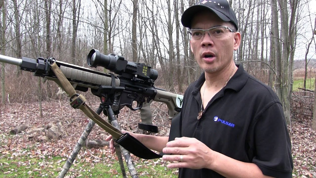 Coyote Hunting Pulsar Apex XD75A Thermal Sight Night Hunting Tips and Trick by Nito Mortera