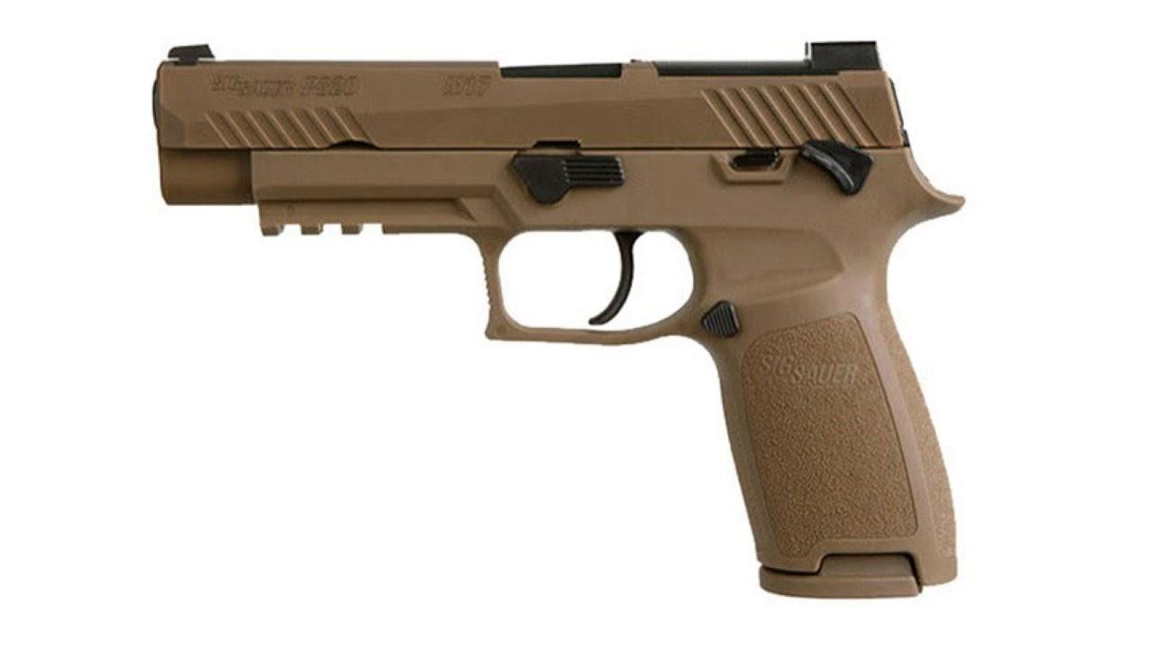 SIG Sauer Announcement  P320 M17