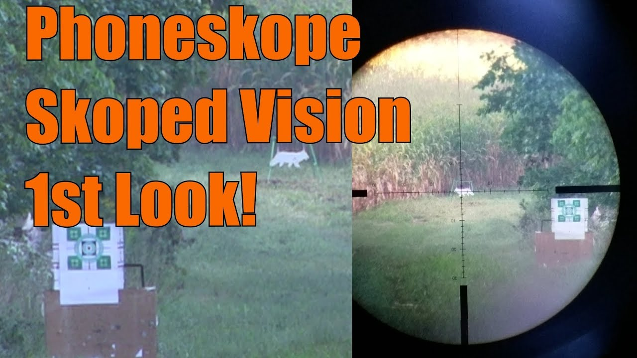 Phoneskope Skoped Vision 1st Look 230 yards Lehigh Defense 300BLK 120gr Wicked Bullet