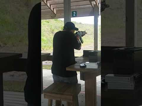 Shooting the M92