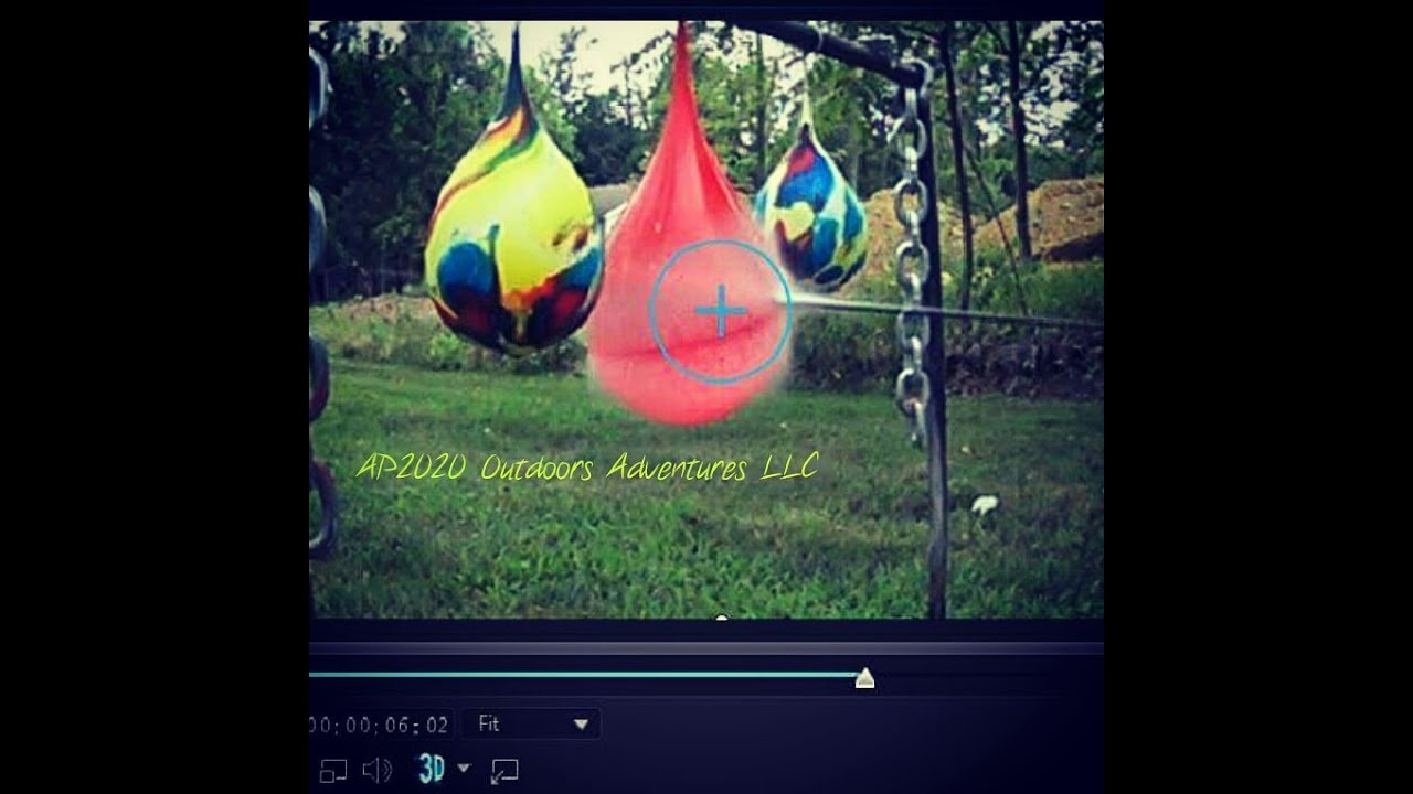 Xpedition Archery Xcentric 6 and Water Ballons Sony AS200V 240 FPS