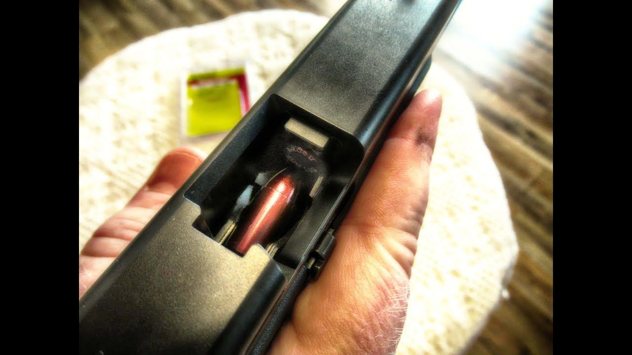 Shooter induced pistol double feed handgun malfunctions