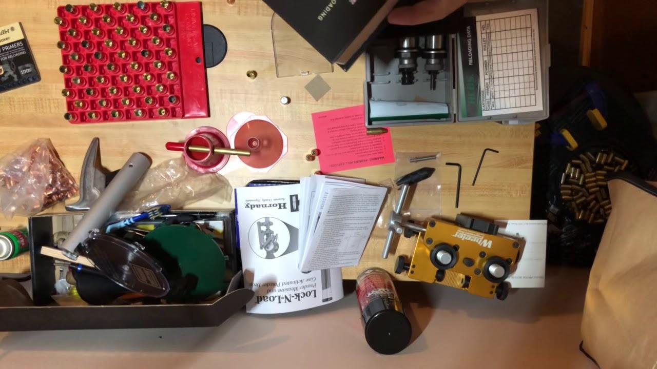 9mm Reloading 101 The handgun reloading process