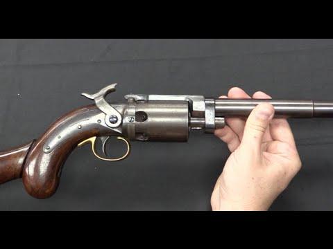 Wesson & Leavitt Revolving Rifle