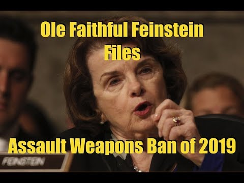 Assault Weapons Ban of 2019 Filed by Feinstein in the Senate