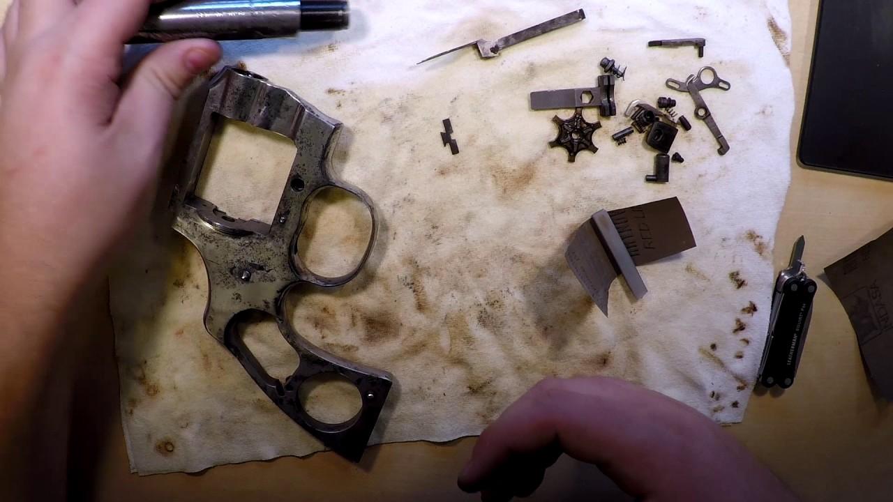 Colt Trooper - Metal Finishing