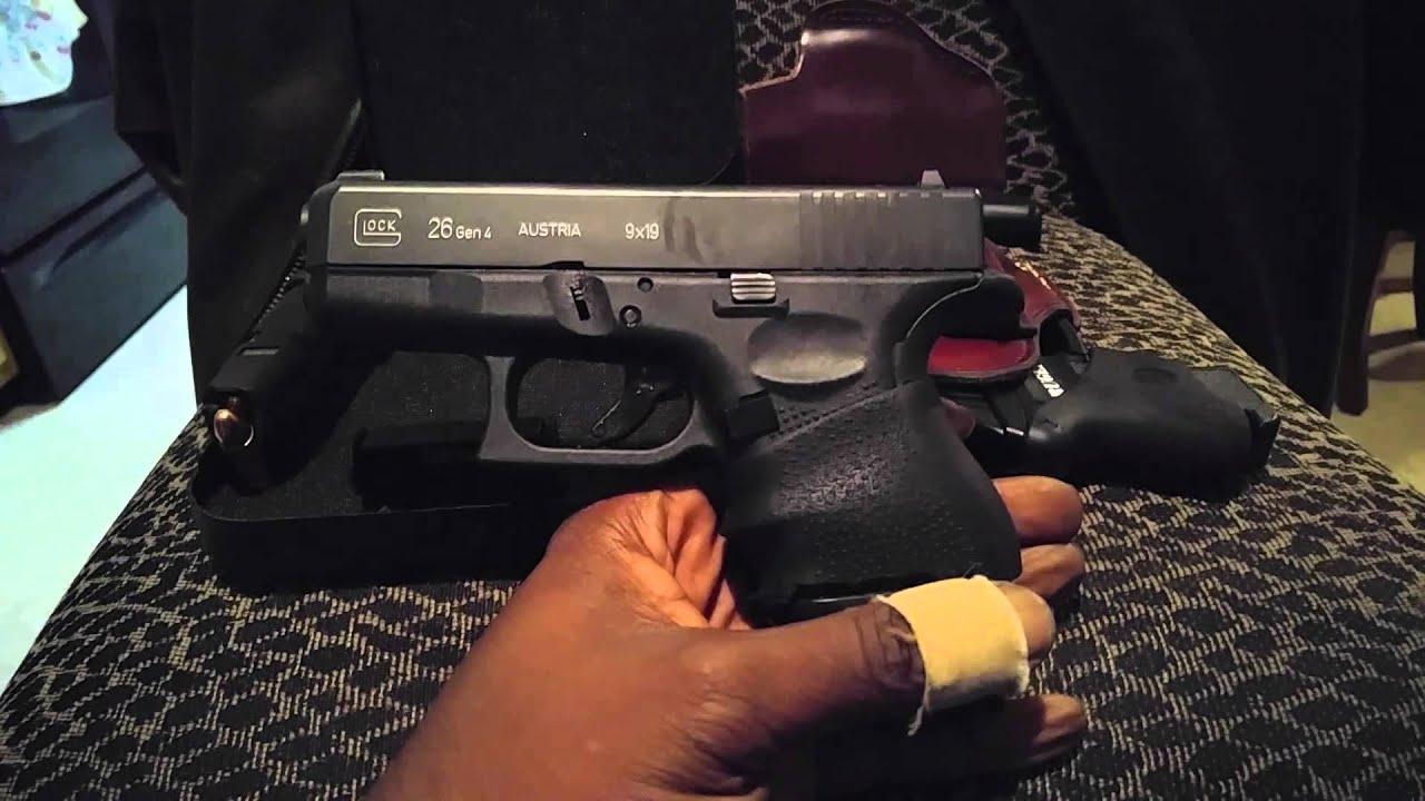 EDC Update Video...Glock 26 Gen 4...