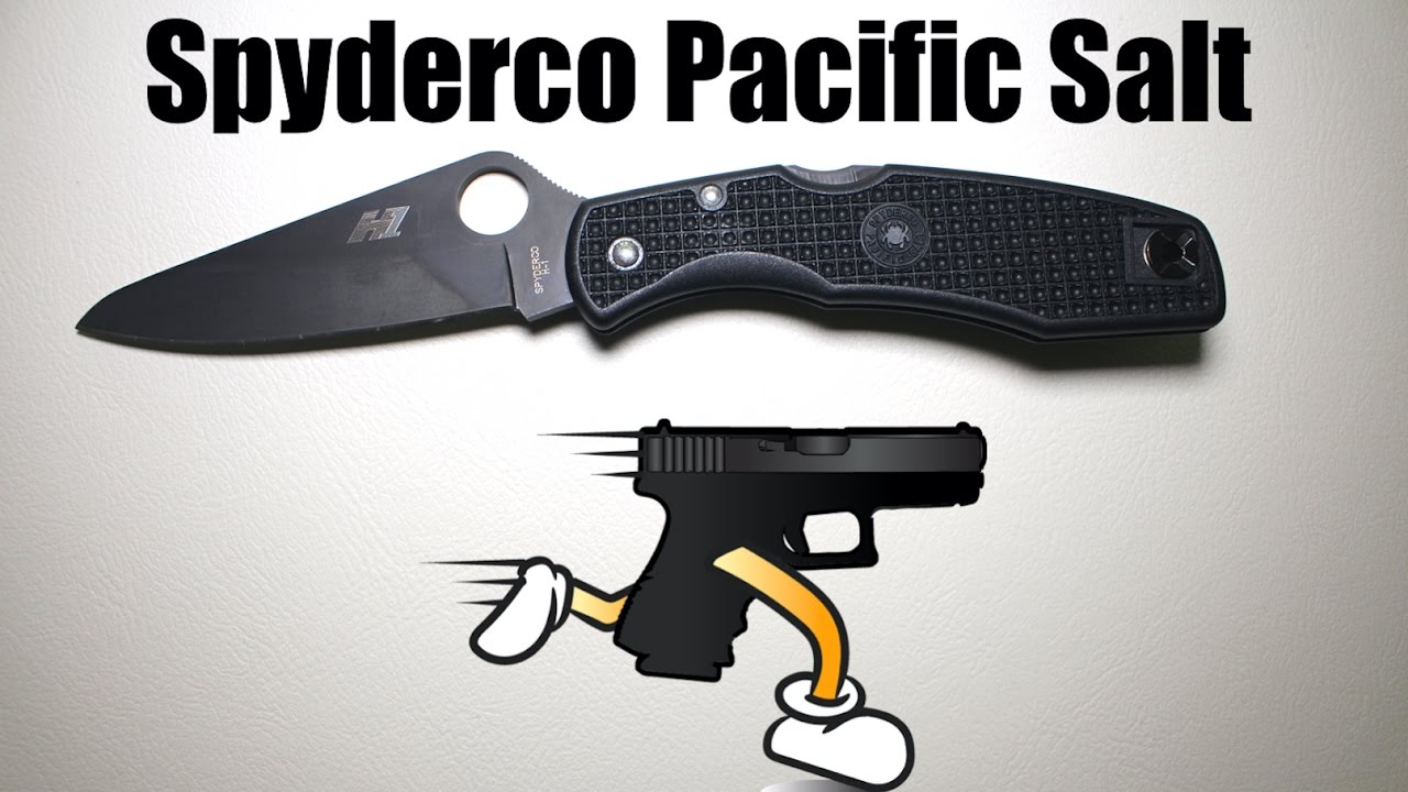 Spyderco Pacific Salt H1 Unboxing and Review