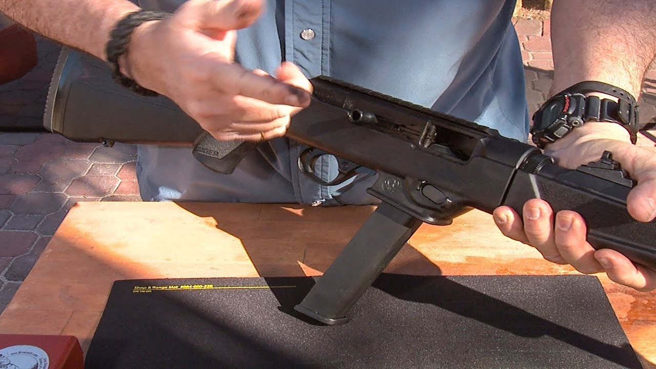 Changing the Magazine Block in the Ruger PC Carbine #428