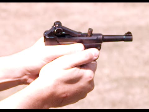 Slow Motion: .32 ACP Baby Luger Malfunctions
