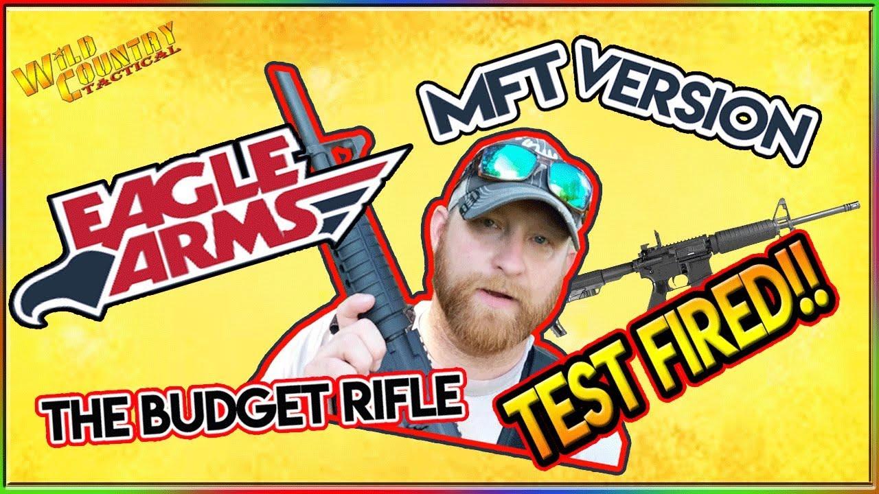 The Budget Rifle TEST 🔥....EAGLE ARMS AR 15 MFT VERSION by Armalite