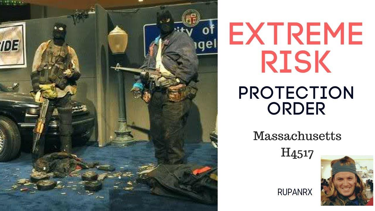 EXTREME RISK PROTECTION ORDER Massachusetts
