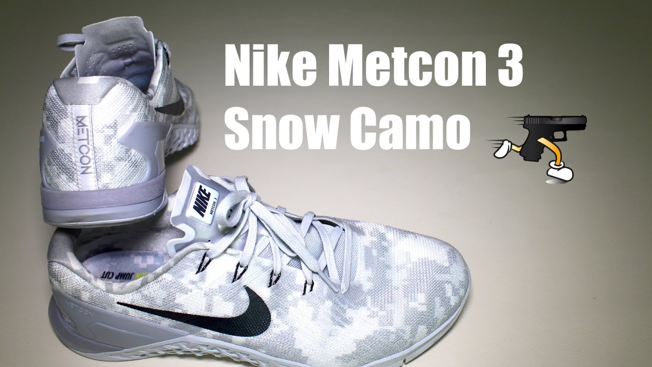 Nike Metcon 3 Snow Camo