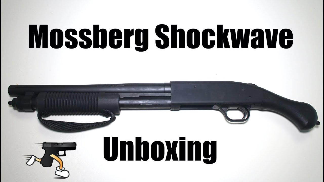 Mossberg 590 Shockwave Unboxing