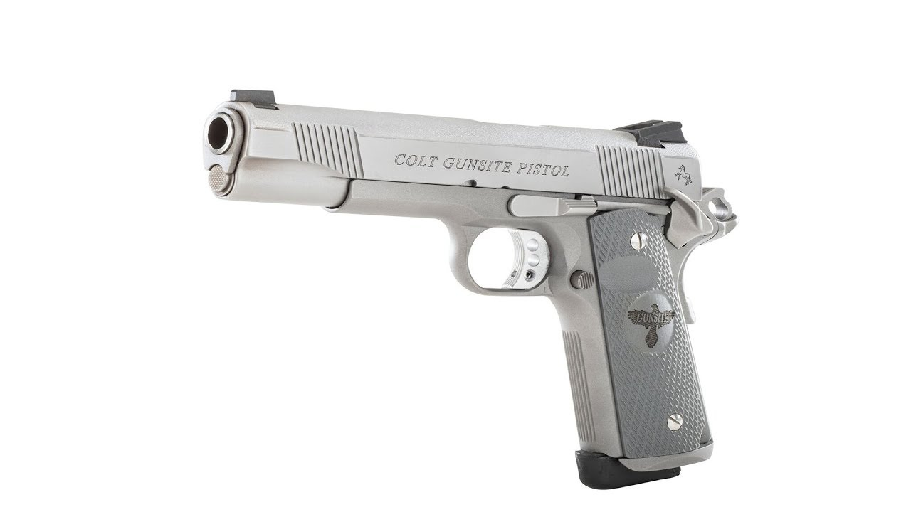 Colt Gunsite Pistol at the Range  #219