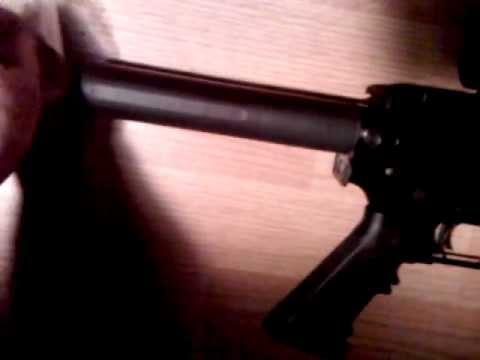 AR-15 pistol RRA buffer tube pad