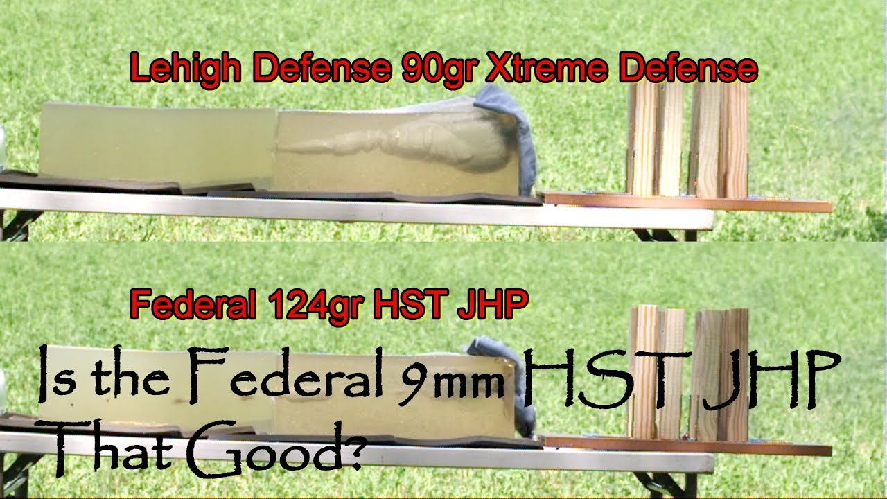 Is The Federal 9mm HST JHP Really That Good Glock 26 Gen 4 Modified Vortex Venom