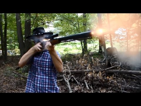 Shooting The Thompson/Center Hawken Rifle -  50 Caliber