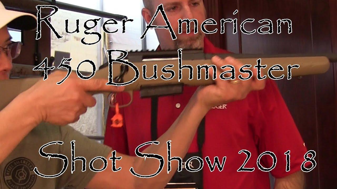 Shot Show 2018 Ruger American 450 Bushmaster
