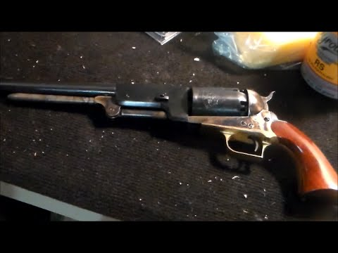 Colt 1847 Walker Revolver First Shots