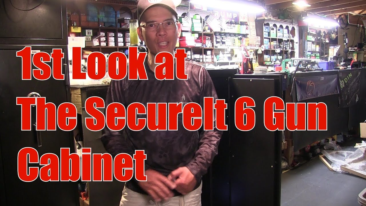 SecureIt 6 Gun Cabinet with Accessories