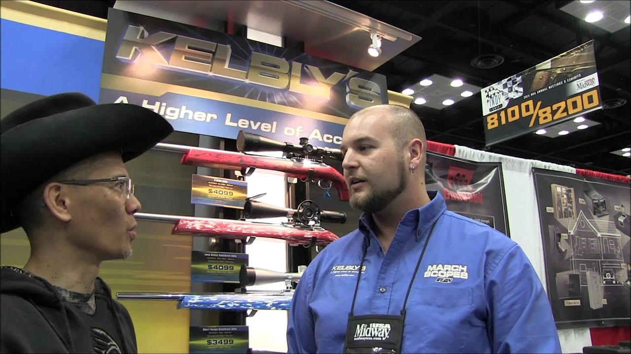 2014 National Rifle Association Annual Meetings and Exhibits Kelbly Custom Rifles