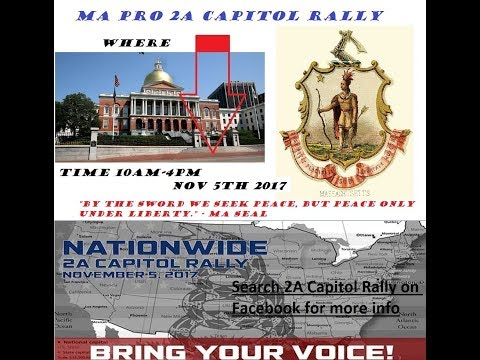 2A Capitol Rally Boston, Massachusetts State house