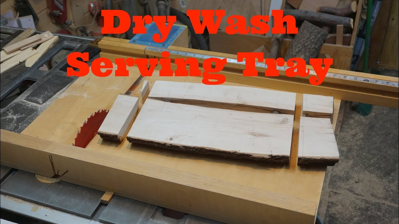 Dry Wash Live Edge Serving Tray, Littlewierdshop