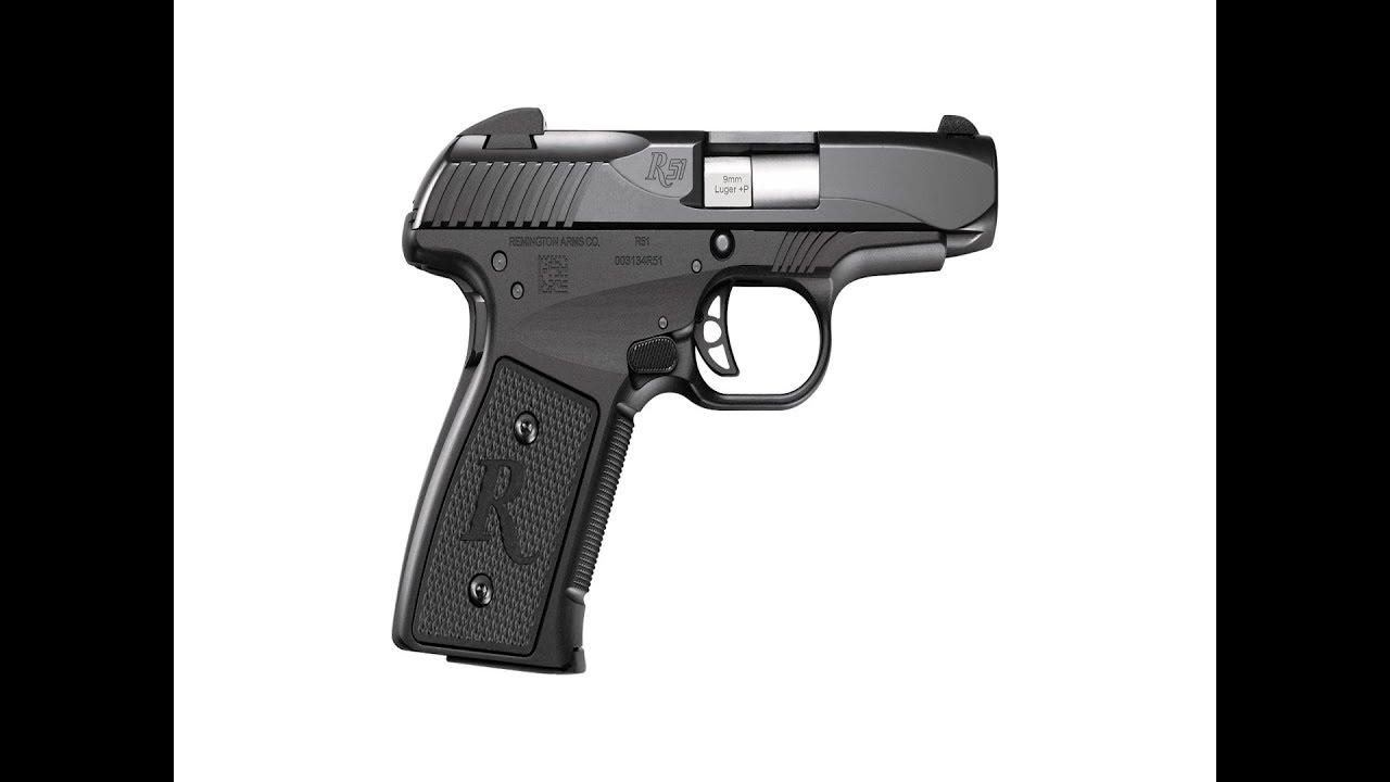 The Remington R51 9mm Smoke Gray Frame  #195