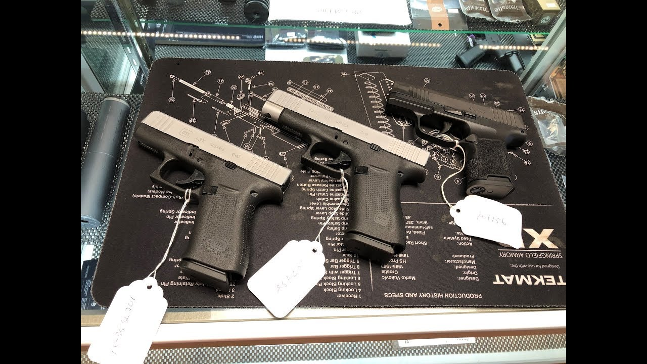 Glock 43x and Glock 48 First Look