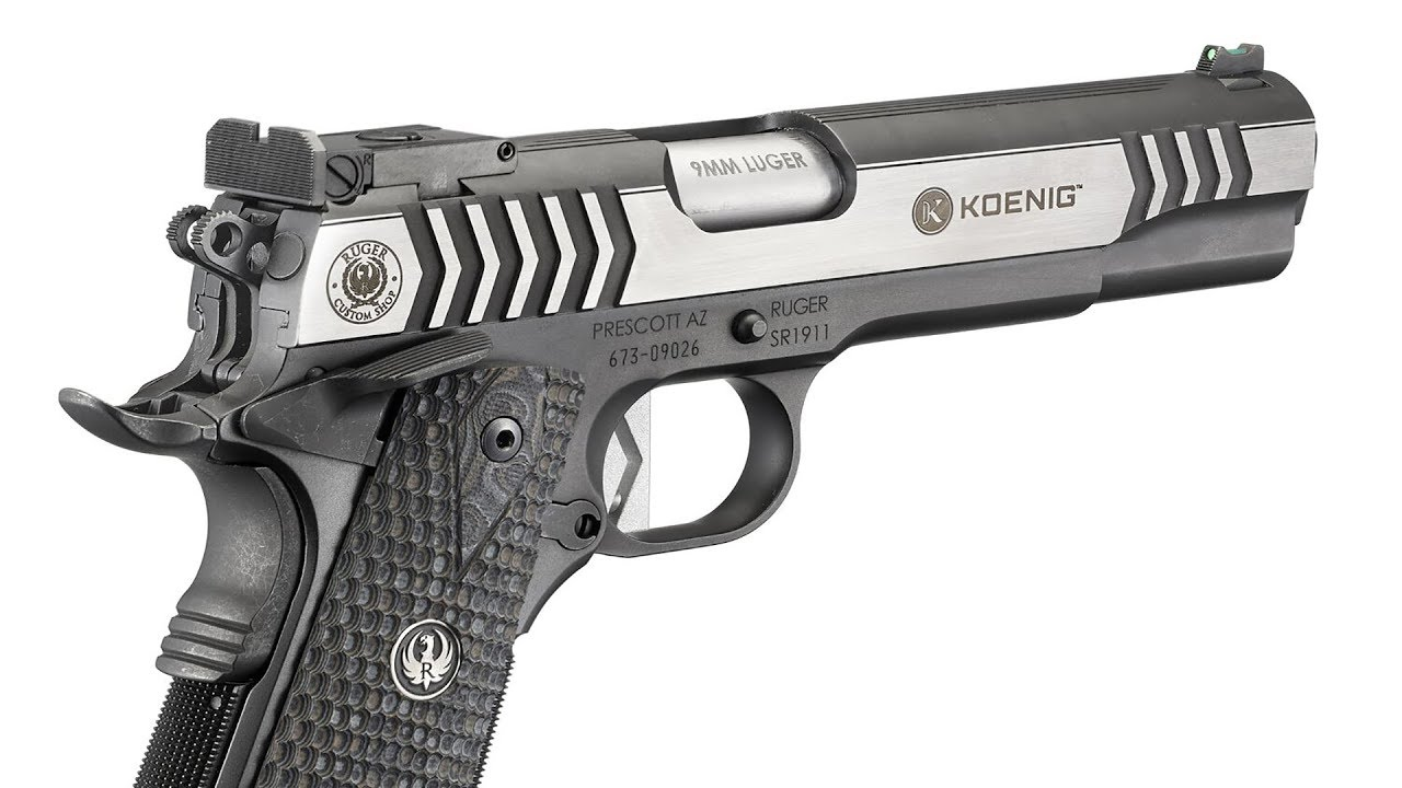 Ruger SR1911 COMPETITION PISTOL #451