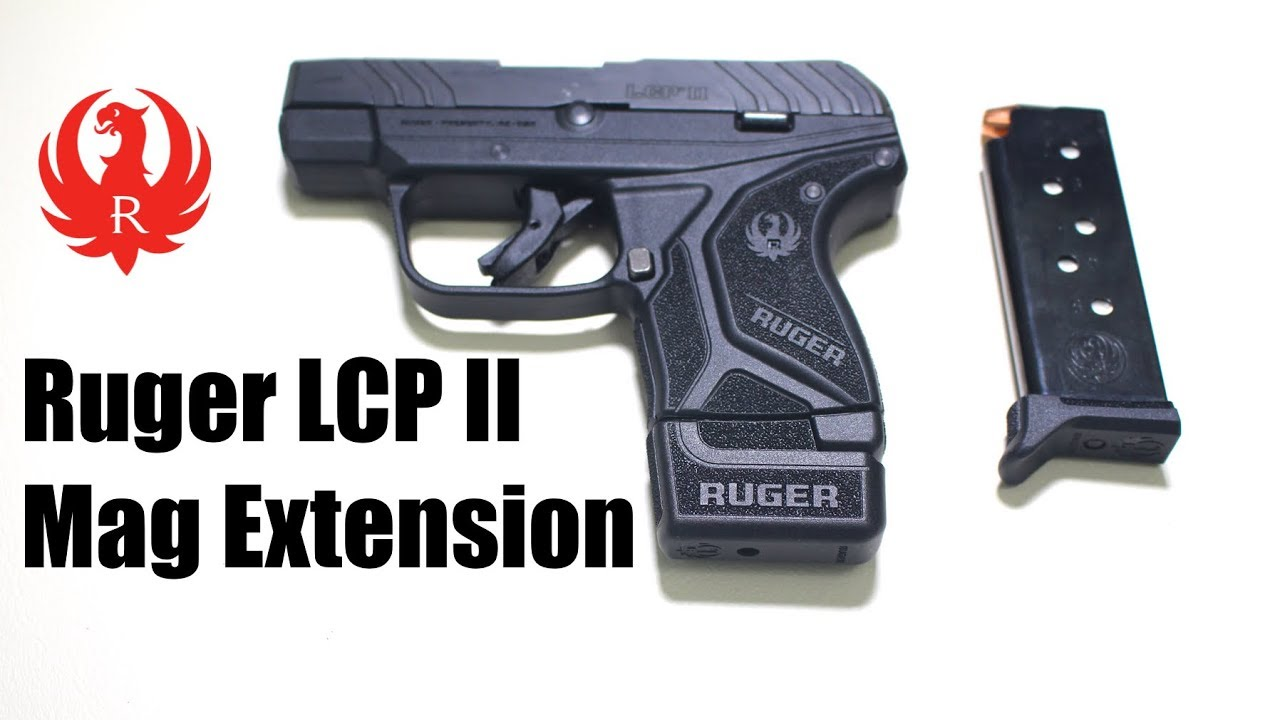 Ruger LCP II Mag Extension