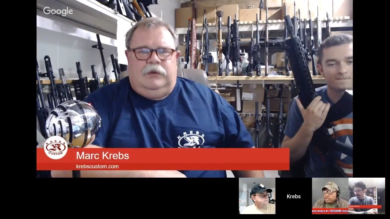 Podcast #55 - Marc Krebs of Krebs Custom: Hank Strange Who Moved My Freedom