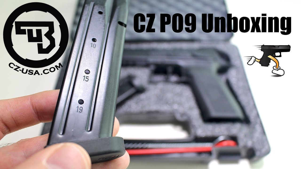 Unboxing: The CZ P09