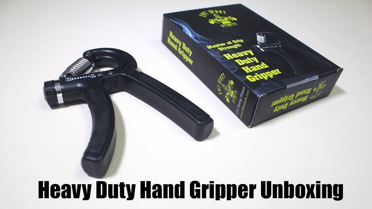 Heavy Duty Hand Gripper - Grip Strength Training