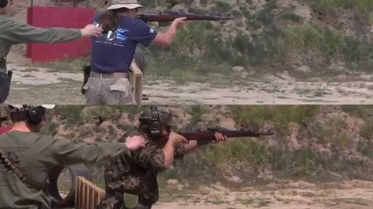2-Gun Action Challenge: 1943 Walther Gewehr 41