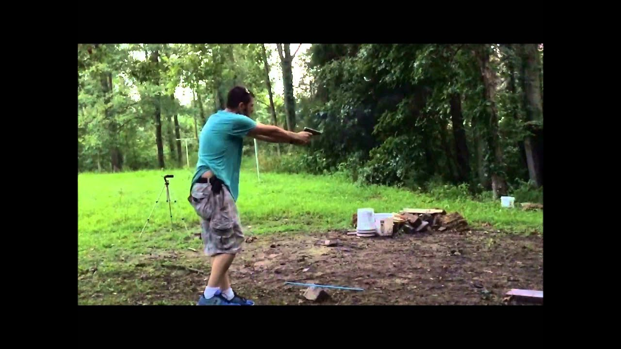 The GunFather: Trick Shot Tuesday: **The Flying Quick Draw**
