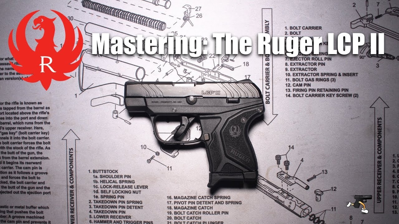 Mastering: The Ruger LCP II