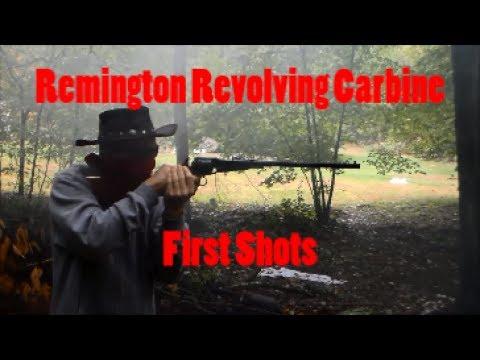 Remington Revolving Carbine - First Shots