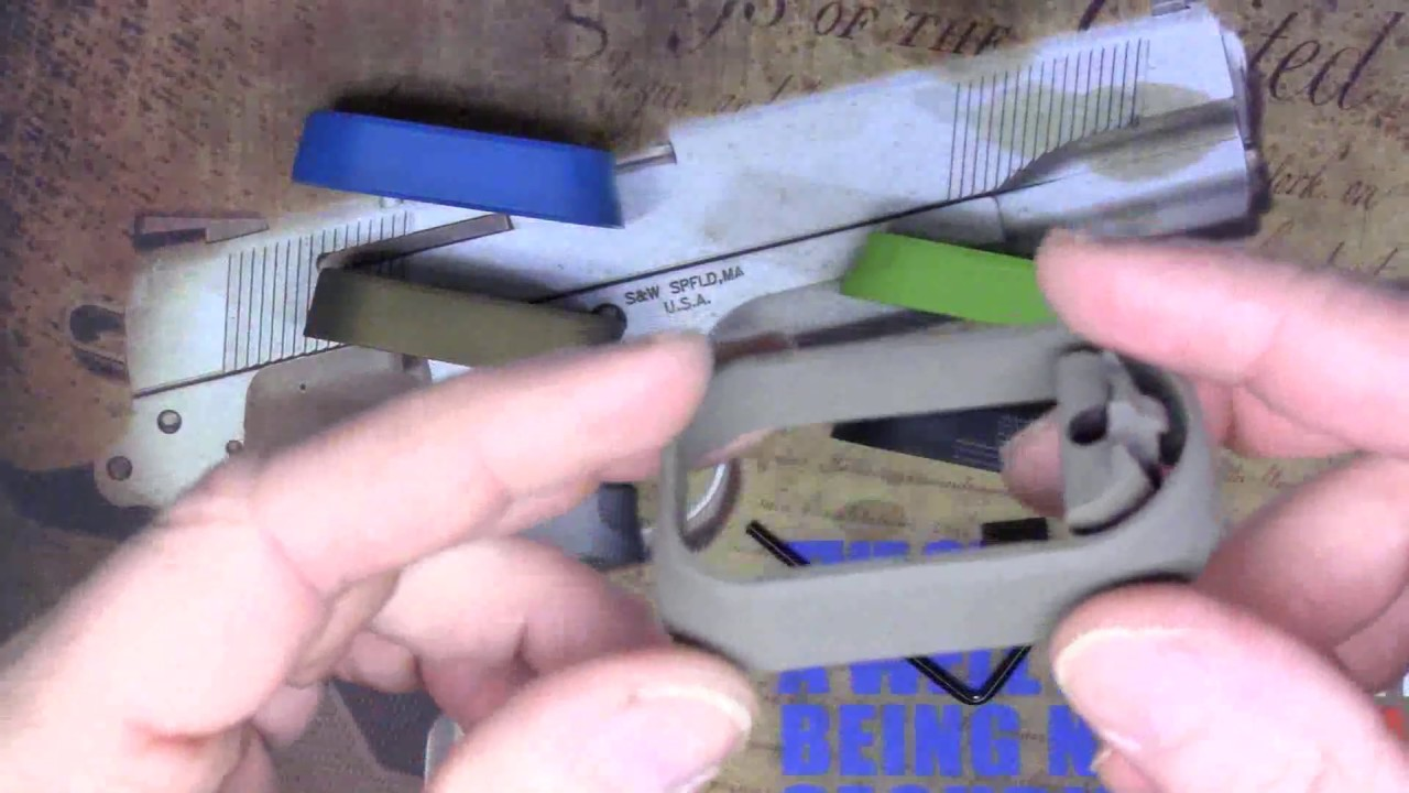 NDZ Glock Magwell prefinished Cerakote and Engraved