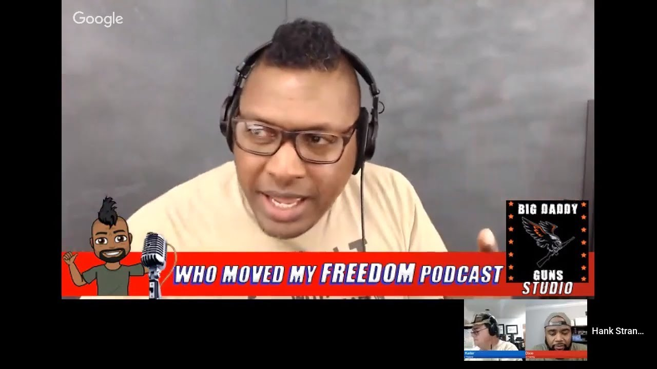 Podcast #90 - Free For All Monday with Kevin & Walter Hank Strange Who Moved My Freedom