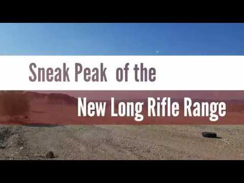 Sneak Peak of the New Long Rifle Range