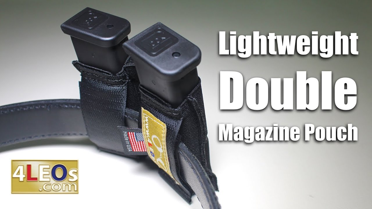 4LEOs Slim Double Magazine Pouch