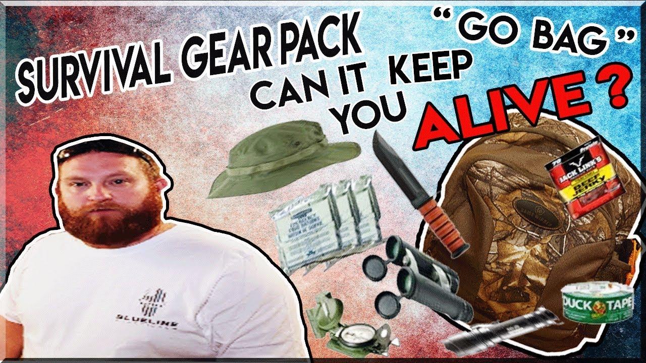 Survival Gear Pack....