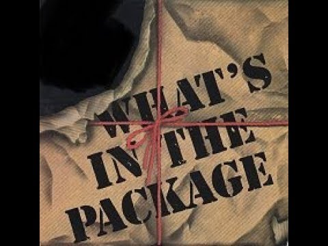 Monday's Package 7/30/18 🤔